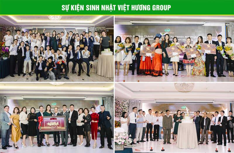Sự kiện sinh nhật Công ty TNHH Mỹ Phẩm Việt Hương
