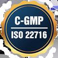 Chứng nhận CGMP - ISO 22716