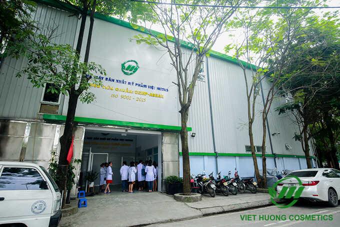 Nhà máy sản xuất Mỹ Phẩm Việt Hương