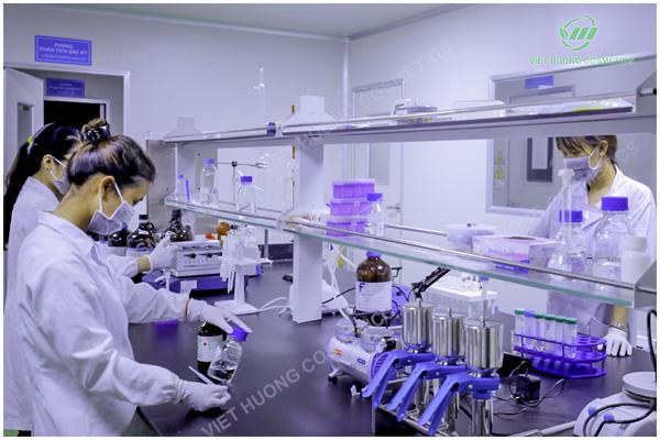 Quá trình hoạt động của trung tâm nghiên cứu thực phẩm và mỹ phẩm