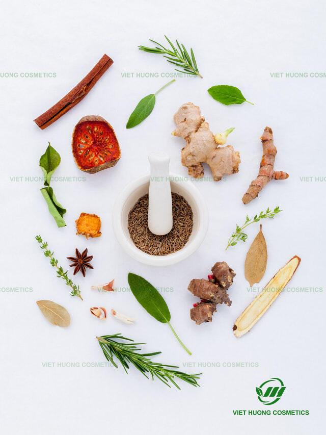 Việt Hương gia công mỹ phẩm nguyên liệu thiên nhiên