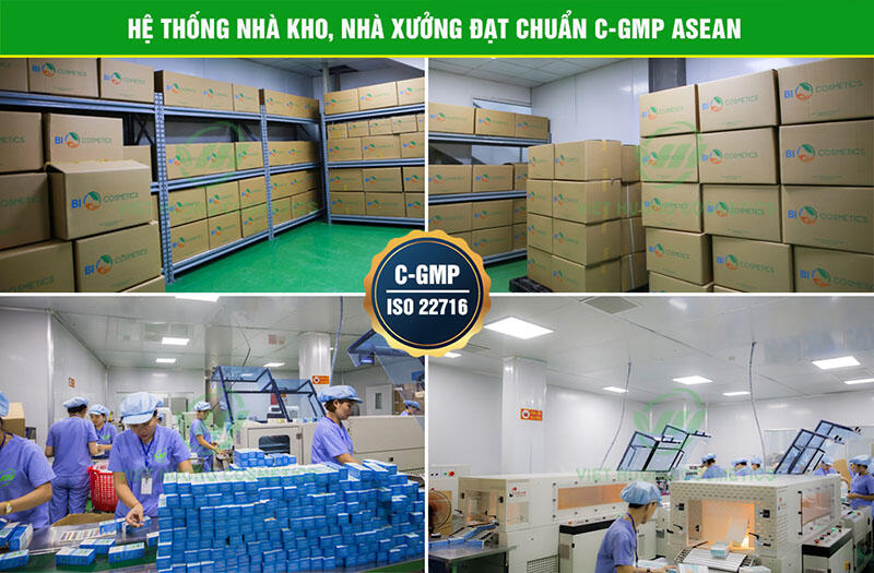 Hệ thống nhà kho nhà xưởng đạt tiêu chuẩn cGMP - Asean